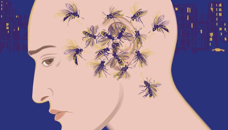 Εμβοές απεικονίζονται σαν σφίγγες γύρω από αυτί